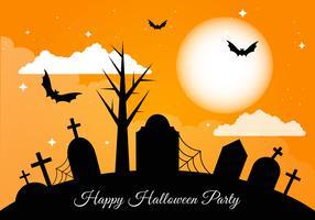 Collection gratuite d'éléments vectoriels Halloween vecteur