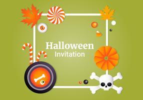 Collection d'éléments de vecteur Halloween gratuit