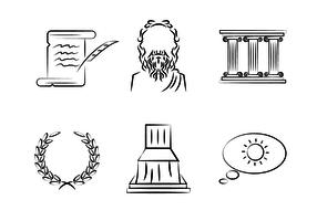 Vecteur de citations Socrates