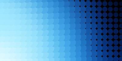 texture de vecteur bleu clair avec des disques.