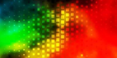 fond de vecteur multicolore sombre dans un style polygonal.