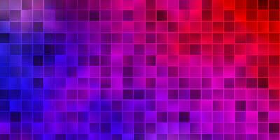 disposition de vecteur bleu clair, rouge avec des lignes, des rectangles.