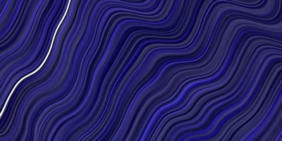 fond de vecteur bleu foncé avec des lignes.