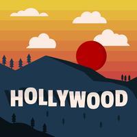 Vecteurs Vintage Los Angeles créatifs vecteur
