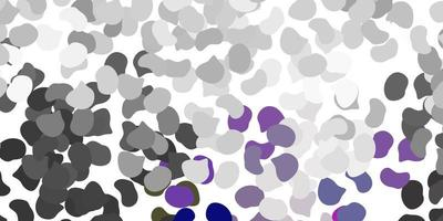 texture de vecteur gris clair avec des formes de memphis