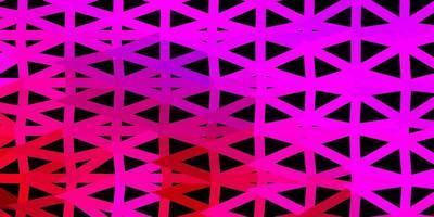 texture de polygone dégradé vecteur rose foncé.