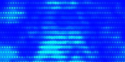 fond de vecteur bleu clair avec des cercles.