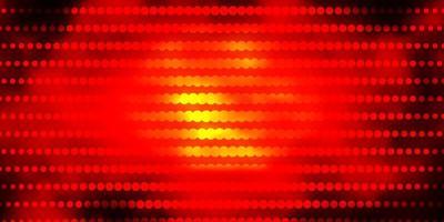 disposition de vecteur rouge foncé avec des cercles.