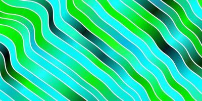 disposition de vecteur bleu clair, vert avec des courbes.