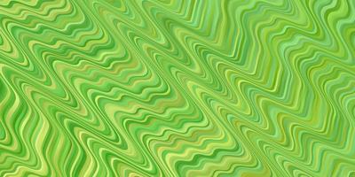 modèle vectoriel vert clair avec des courbes.