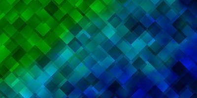 modèle vectoriel bleu clair, vert avec des rectangles.