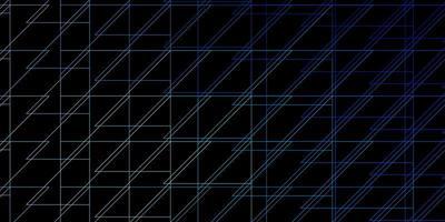 toile de fond de vecteur bleu foncé, vert avec des lignes.