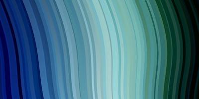 texture de vecteur bleu clair, vert avec des lignes ironiques.