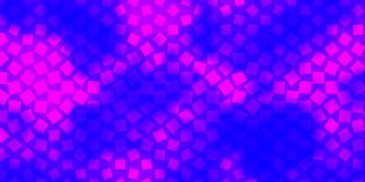 modèle vectoriel violet clair dans les rectangles.