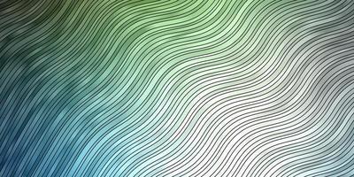 texture de vecteur bleu clair, vert avec des courbes.