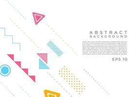 abstrait desgin de forme géométrique moderne