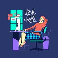 travail à domicile pendant l'épidémie de covid-19