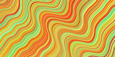 fond de vecteur multicolore clair avec des lignes ironiques.
