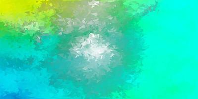 fond d'écran polygonale géométrique vecteur vert clair.