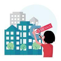 entreprise immobilière proposant immeuble à vendre