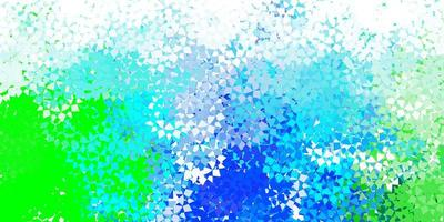 disposition de vecteur bleu clair avec des lignes, des triangles.