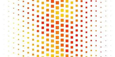 modèle vectoriel orange clair dans les rectangles.