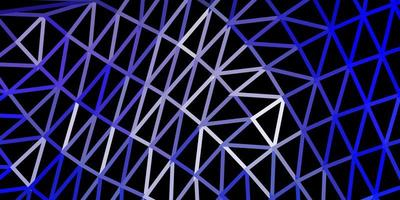conception polygonale géométrique vecteur violet clair.