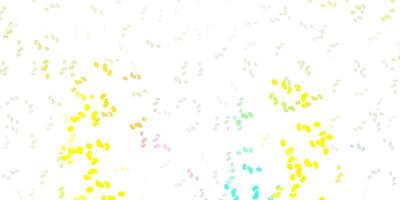 modèle vectoriel multicolore clair avec des formes abstraites.