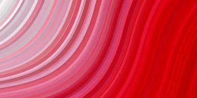 modèle de vecteur rouge clair avec des lignes ironiques.