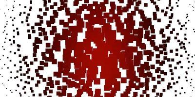 disposition de vecteur rouge clair avec des lignes, des rectangles.