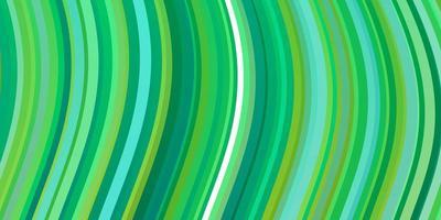 toile de fond de vecteur vert clair avec des courbes.