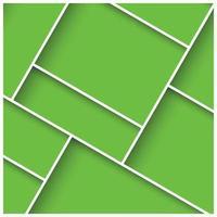 3d abstrait fond carré avec des carreaux colorés