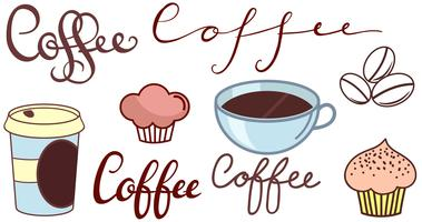 Vecteurs de Logo Coffee Shop