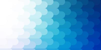 toile de fond de vecteur bleu clair avec des lignes.