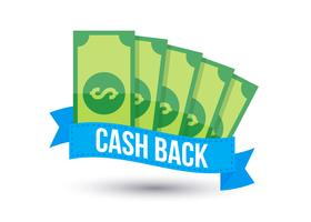 Vecteurs emblématiques de remise en argent