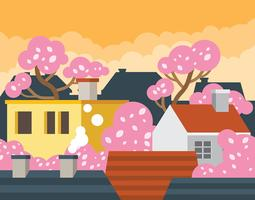 Illustration de printemps Allemagne Bonn