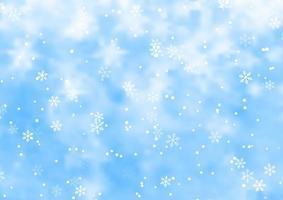 fond de flocon de neige de noël