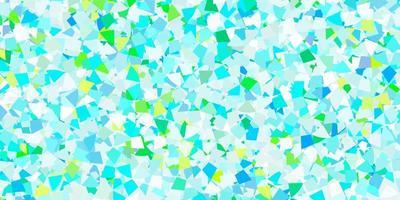 fond de vecteur bleu clair avec un style polygonal.