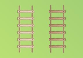 Illustration d'échelle de corde vecteur