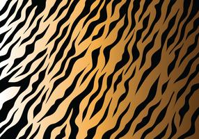 Vecteur de rayures de tigre