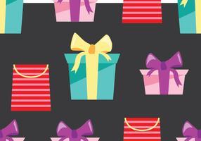Fête du cadeau vecteur