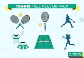 Pack de vecteur libre de tennis