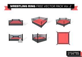 Wrestling Ring vecteur gratuit Pack