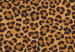 conception imprimée léopard. peau de guépard. empreinte d'animal. vecteur