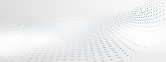 affiche de fond gris abstrait avec un design dynamique vecteur