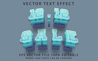 prime de vente d'effet de texte vecteur