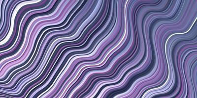 disposition de vecteur violet clair avec des courbes.