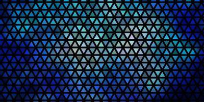 fond de vecteur bleu foncé avec des triangles.