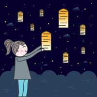 festival de la lanterne du ciel