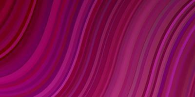modèle vectoriel violet foncé, rose avec des courbes.